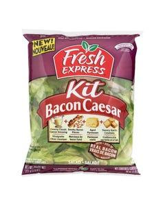 Fresh Express Salad Kit Bacon Caesar 221G