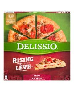 Delissio Rising Crust 3 Meat 834G