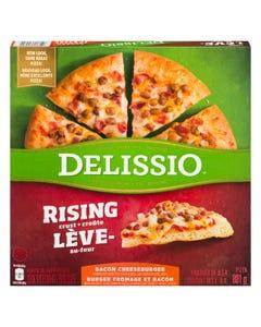 Delissio Rising Crust Bacon Cheeseburger 801G