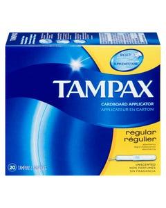 Tampax Tampons Non Parfumés Régulier 20'S