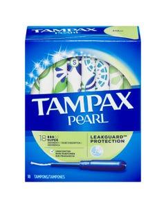 Tampax Pearl Super Tampons Non Parfumés 18'S