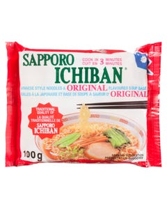 Sapporo Ichiban Noodles Original 100g