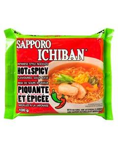 Sapporo Ichiban Hot & Spicy Noodles 100G