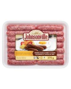 Johnsonville Breakfast Sausages Brown Sugar & Honey Flavour 375G