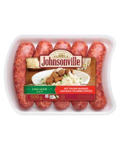 Johnsonville Italiano Hot Italian Sausages 500G