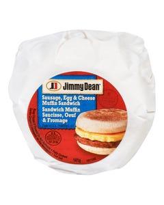 Jimmy Dean Sausage, Egg & Cheese Muffin Sandwich 141G