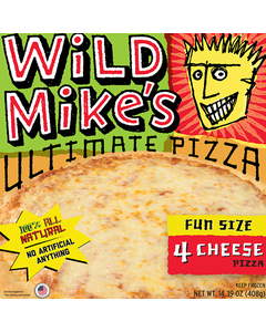 Wild Mike's Pizza 4 Fromages 408G