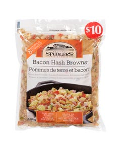 Spudlers Bacon Hash Browns 1.2KG