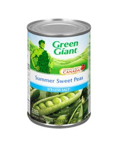 Green Giant Summer Sweet Peas 1/3 Less Salt 398ML