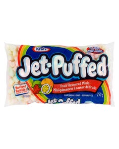 Jet Puffed Mini Guimauves Saveur de Fruits 250G