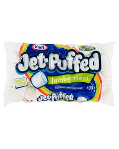 Jet Puffed Marshmallows Jumbo White 400g