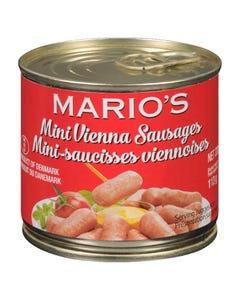 Mario's Mini Vienna Sausages 113G