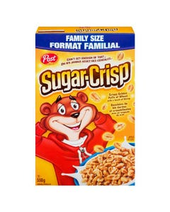 Post Sugar Crisp Cereal 550g