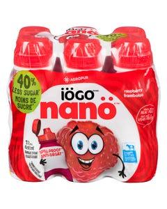 Iogo Nano Drinkable Yogurt Raspberry 6X93ML