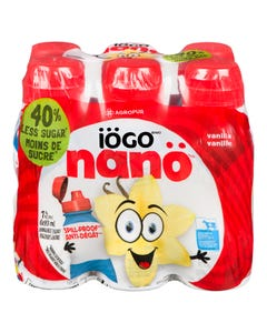 Iogo Nano Drinkable Yogurt Vanilla 6X93ML