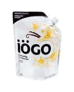 Iogo Creamy Vanilla Yogurt 2KG