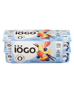 Iogo Yogurt Peach / Vanilla / Blueberry / Strawberry 16X100G