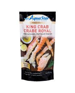 Aqua Star King Crab Legs & Claws 500G