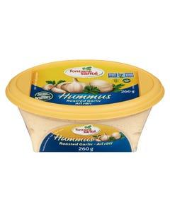 Fontaine Sante Hummus Roasted Garlic 260G