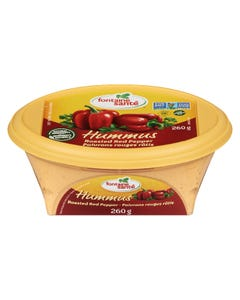 Fontaine Sante Hummus Roasted Red Pepper 260G