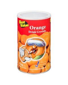 Best Value Drink Crystals Orange 2kg