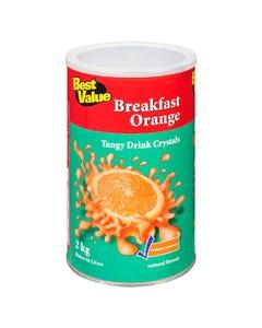 Best Value Drink Crystals Breakfast Orange 2kg
