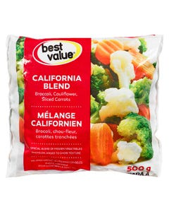 Best Value Légumes Mélange Californien 500G