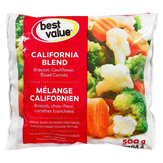 Best Value Frozen Vegetables California Blend 500g