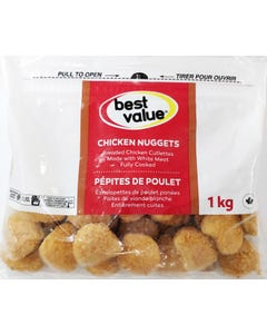 Best Value Breaded Chicken Nuggets 1kg