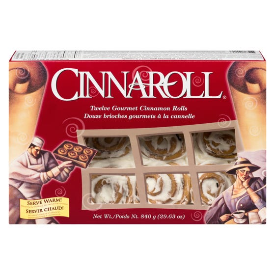 Cinnaroll Cinnamon Rolls 840G