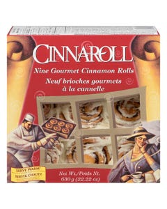 Cinnaroll Cinnamon Rolls 9 Pack 630G