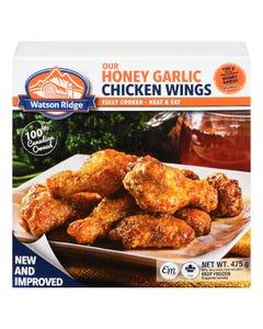 Watson Ridge Honey Garlic Chicken Wings 475G