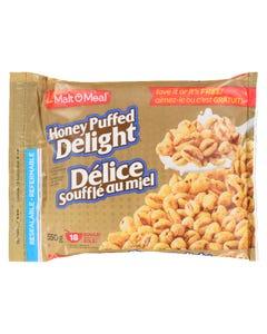 Malt O Meal Honey Puffed Delight 550G