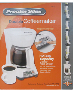 Coffeemaker PS 12 Cup White