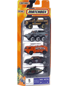 Matchbox 5 Pack Cars 1 64 Assorted
