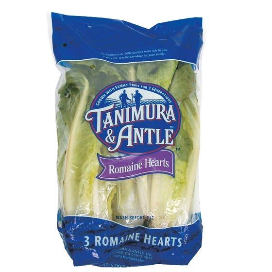Lettuce Romaine Hearts 652g