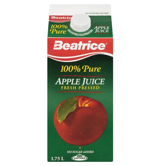 Beatrice Apple Juice 1.75L