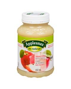 Applesnax Unsweetened Applesauce 650ML