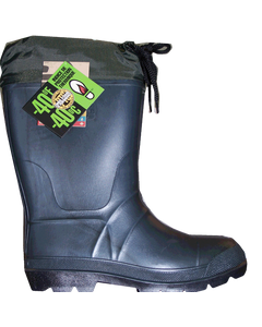 Boot Rubber Feedlot Boys 4 Green
