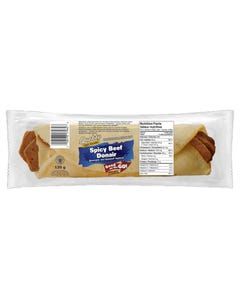 Quality Fast Foods Spicy Beef Donair 135G