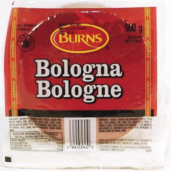 Burns Bologne en Tranches 500G