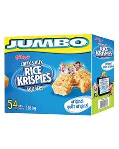 Kelloggs Rice Krispies Squares 54CT 1.18KG