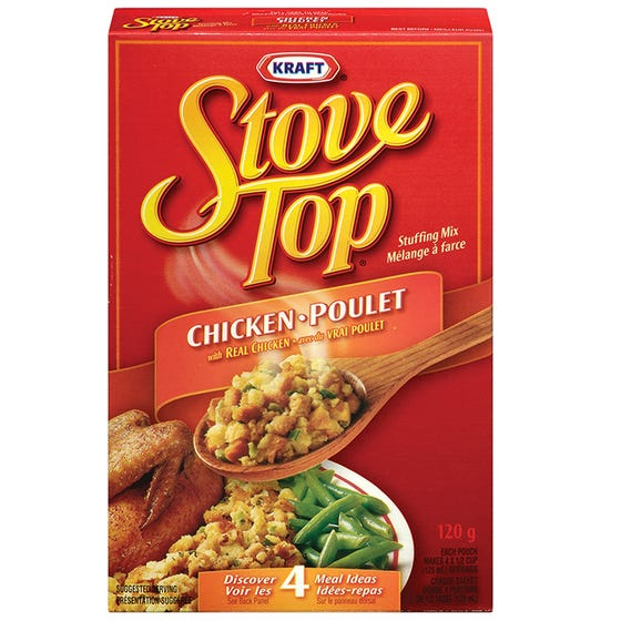 Kraft Stove Top Mélange à Farce Poulet 120G