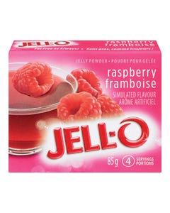 Jell-O Jelly Powder Raspberry 85G
