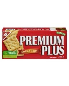 Premium Plus Crackers Salted Tops 225G