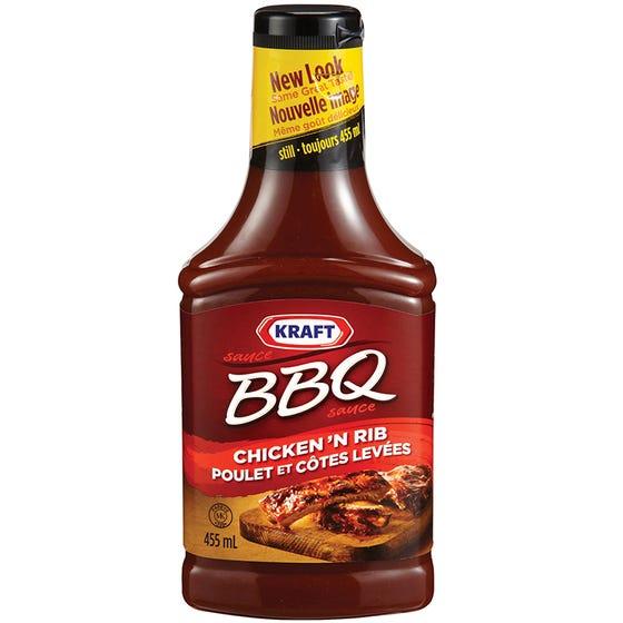 Kraft BBQ Sauce Chicken 'N Rib 455ml