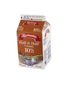 Lactantia Half & Half Cream 10% 473ml