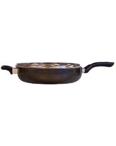 Saute Pan Covered  Clairborne Aluminum 12in