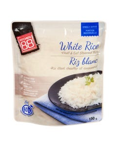 Kitchen 88 Microwave White Rice 150g