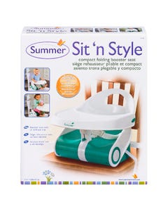 Sit 'N Style Booster Feeding Seat One Size Teal